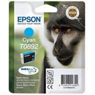 Tusz Epson  T0892    do  Stylus S20, SX-100/-105/-200/-205  | 3,5ml | cyan