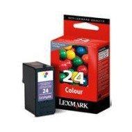 Tusz Lexmark 24 do X-3530/3550/4530/4550   zwrotny   CMY