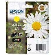 Tusz Epson T1804  do   XP-102/202/302/305/402/405 | 3,3ml |  yellow