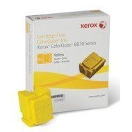 Kostki barwiące Xerox  do ColorQube 8870 | 17 300 str. | yellow