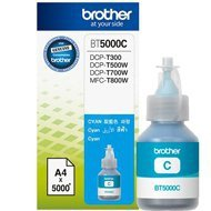 Tusz Brother do DCP-T300/T500W/T700W, MFC-T800W   5 000 str.   cyan
