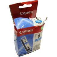 Tusz Canon BCI6C do S-800/820D/830D/900, i-560/950, BJC-8200 | cyan uszk.opak