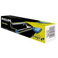 Folia Philips do faksów serii Fax Magic 2 | 150 str. | black