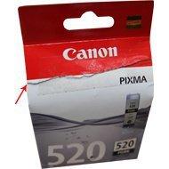 Tusz Canon PGI520BK do iP-3600/4600, MP-550/620/630/980 | 19ml | black uszk. op.