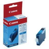 Tusz Canon BCI3EC do BJ-C6000/6100, S400/450, C100, MP700 | 280 str. | cyan