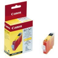 Tusz Canon BCI3EY do BJ-C6000/6100, S400/450, C100, MP700 | 280 str. | yellow
