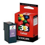 Tusz Lexmark 33 do X-5250/3330/7170/8350, Z-815   CMY