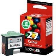 Tusz Lexmark 27 do Z-13/23/33/35, X-75/1270/1250   CMY