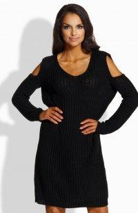 Fobya LS189 sukienka czarna