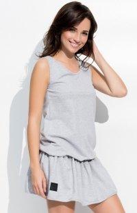 *Numinou NU43 sukienka szara