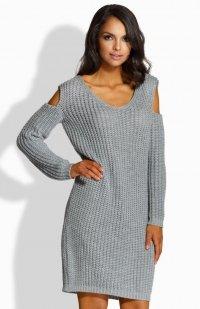Lemoniade LS189 sukienka szara