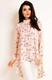 Awama A168 koszula różowa