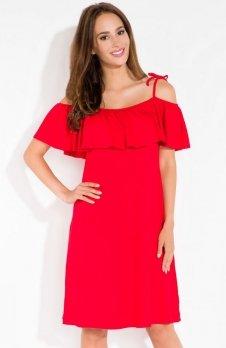 Fobya L115 sukienka czerwona