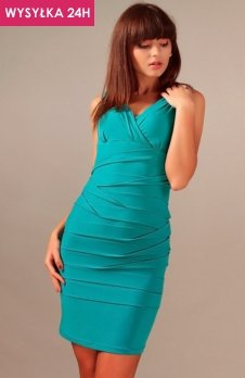 *Vera Fashion Margo sukienka turkusowa