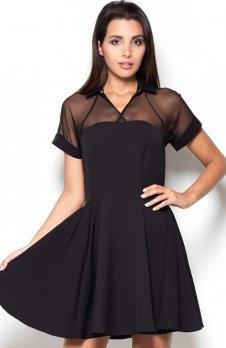 Katrus K399 sukienka czarna