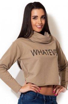 Katrus K148 bluza beżowa