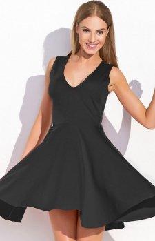 Makadamia M295 sukienka czarna