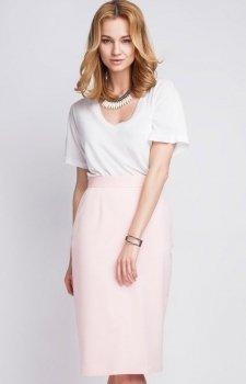 Lanti SP111 spódnica różowa