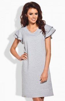 Lemoniade L137 sukienka szara