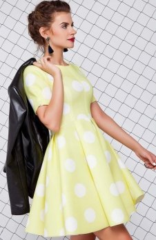 Cover GR1079 sukienka żółta