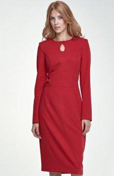 Nife S79 sukienka czerwona
