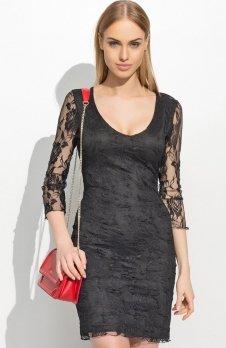 Makadamia M305 sukienka czarna
