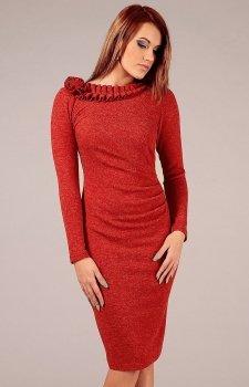 Vera Fashion Sara sukienka czerwona