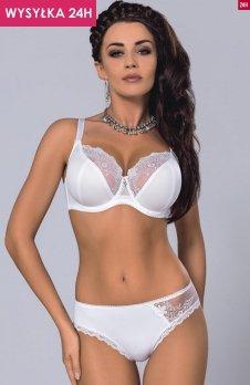 *Gorsenia K165 Anne-Marie biustonosz miękki biały