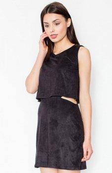 Figl M461 sukienka czarna