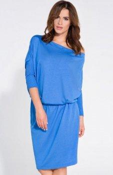 FIMFI I126 sukienka lazurowa