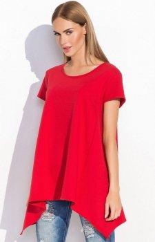 Makadamia M283 bluzka czerwona