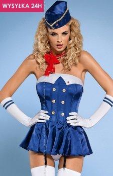 Obsessive Stewardess corset kostium