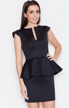 Katrus K273 sukienka czarna