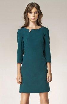 Nife S39 sukienka zielona