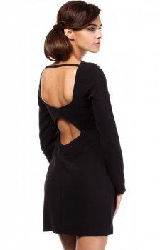 Moe MOE187 sukienka czarna