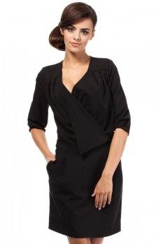 Moe MOE194 sukienka czarny