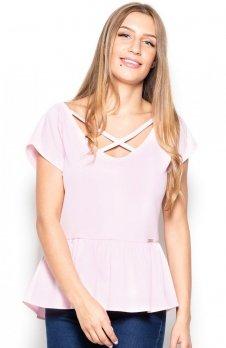 Katrus K396 bluzka różowa