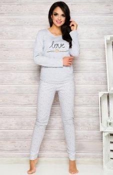 Taro Malina 1198 AW/17 K2 piżama szara