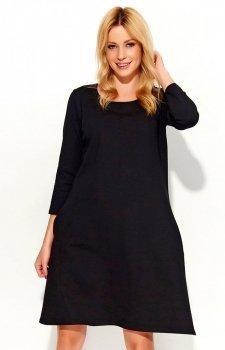 Makadamia M375 sukienka czarna