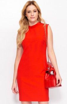 Makadamia M395 sukienka czerwona