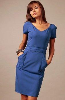 *Vera Fashion Michelle sukienka chabrowa