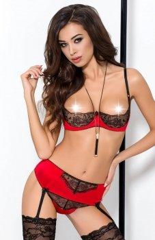 Passion Brida set komplet czerwony