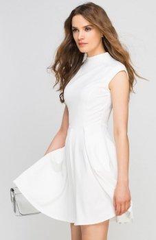 Lanti SUK143 sukienka ecru