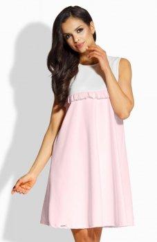 Lemoniade L215 sukienka pudrowy róż