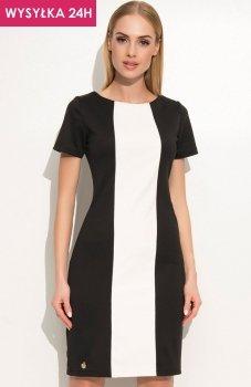 *Makadamia M356 sukienka czarna