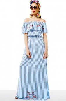 Kasia Miciak design amore sukienka z falbaną