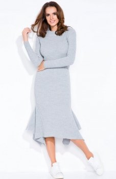 FIMFI I129 sukienka szara