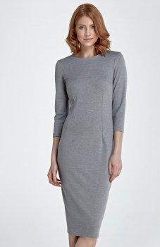 Nife S81 sukienka szara