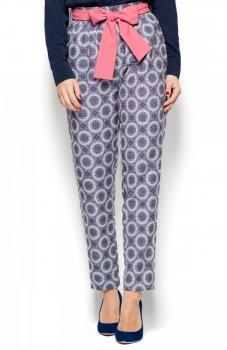 Katrus K430 spodnie wzorzyste