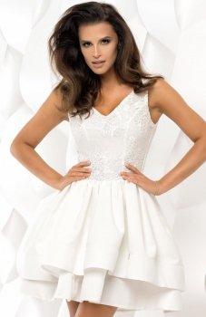 Bicotone 2118-04 sukienka ecru